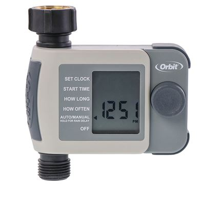 1 Outlet Hose Faucet Simple Timer