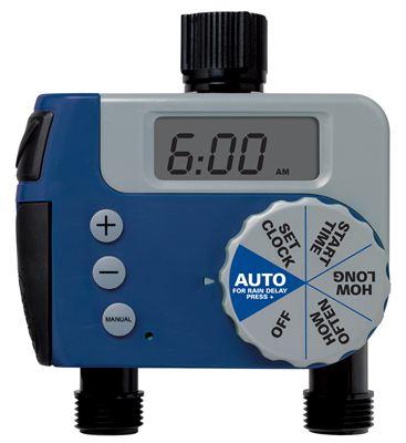 1 Dial Digital/Manual 2 Outlet Hose Faucet Timer