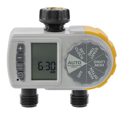 Automatic 2 Outlet Water Timer