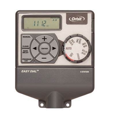 6 Station Easy Dial Indoor Timer with Budgeting (WT22)