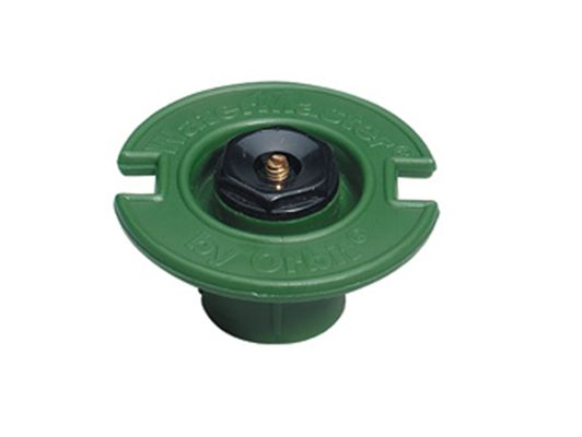 Quarter Pattern Plastic Flush Sprinkler Head With Plastic Nozzle