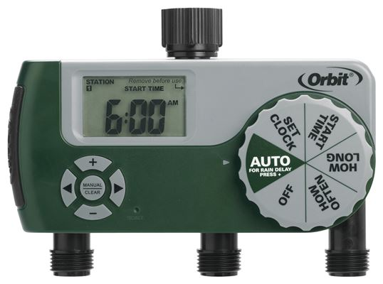 Digital 3 Outlet Timer