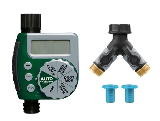 1-Outlet Timer with Hose Y and Hydro-Seal Combo Pack