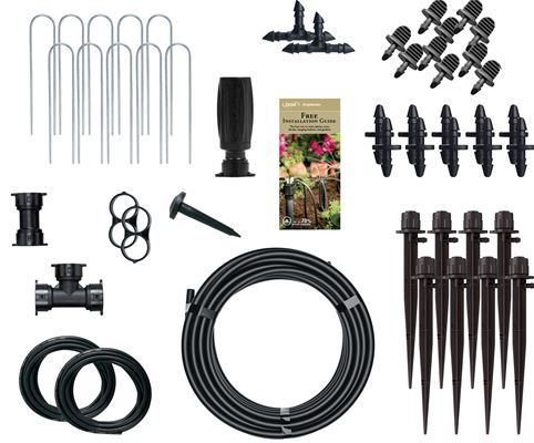 Hose End Shrub and Flowerbed Watering Kit
