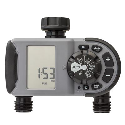2-Outlet Hose Faucet Timer