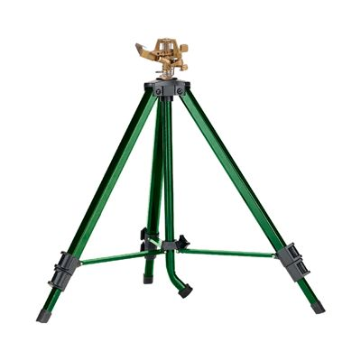 Zinc Impact Sprinkler on Tripod Sprinkler Base