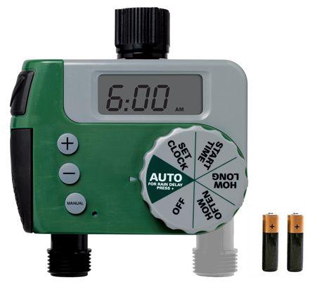 1 Dial 2 Outlet Digital Timer