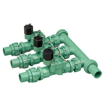 3 Valve Preassembled Manifold w/Easy Wire