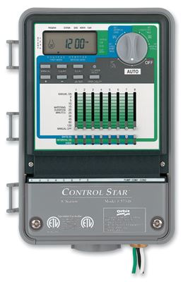 9-Station, 3 Program, Outdoor Control Star