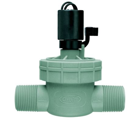 1 In. Male Threaded Automatic Sprinkler Valve with Easy to Access Lid