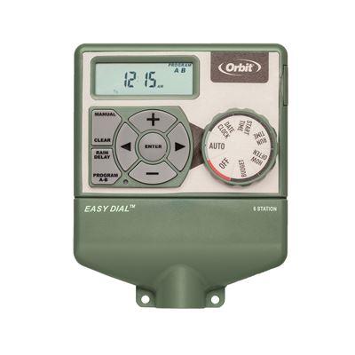 6 Station Indoor Easy Dial Timer