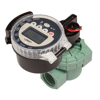 Battery Operated Sprinkler Timer with Valve