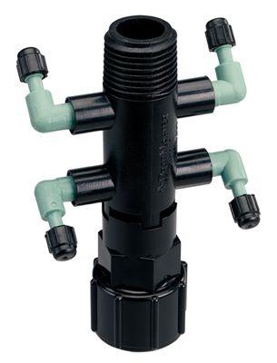4-Port Shrub Head Manifold - Full-Flow