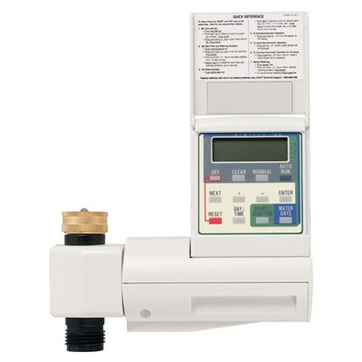 Hose Faucet Timer and Valve