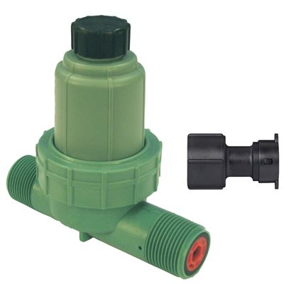 2-in-1 Drip Filter and 30 PSI Pressure Regulator with Drip Adapter