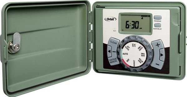 9 Station Outdoor Swing Panel Timer