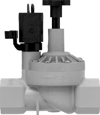 Reverse-Flow Inline Sprinkler Control Valve - With Flow Control