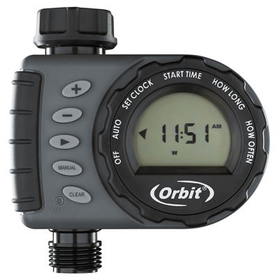 1 Dial 1 Outlet Hose Tap Timer