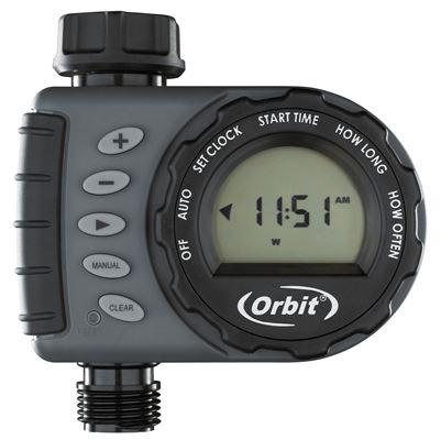 1 Dial 1 Outlet Hose Faucet Timer